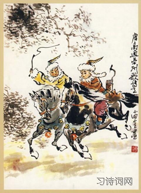 《营州歌》高适古诗原文翻译及鉴赏