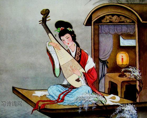 《琵琶行》白居易古诗原文翻译及鉴赏